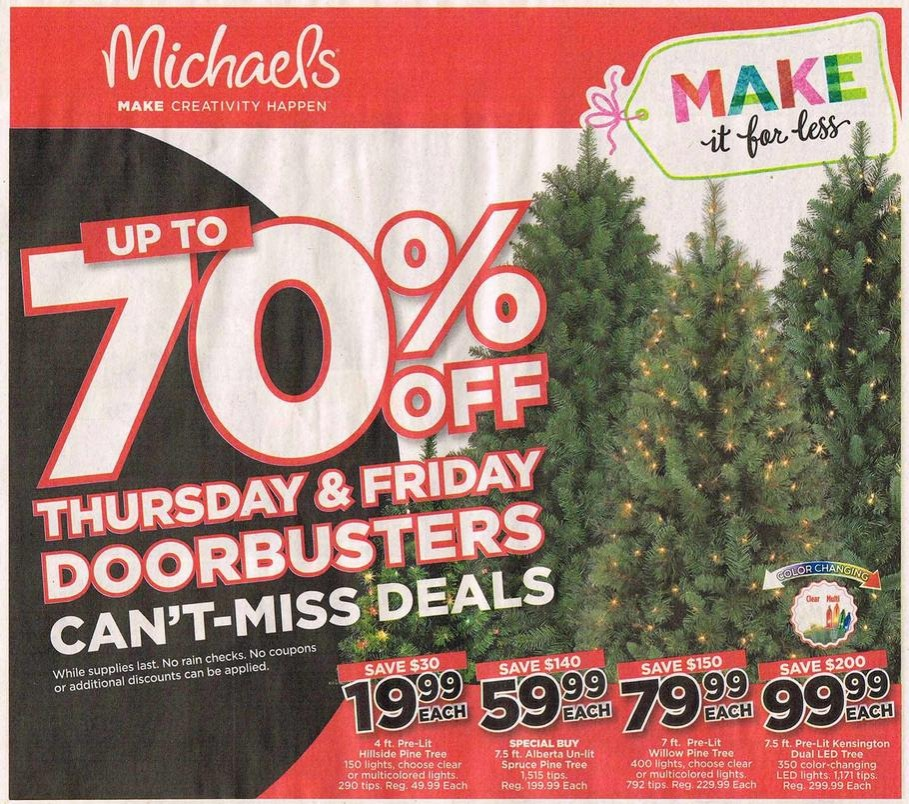 Michaels Black Friday 2017 Ads, Deals and Sales