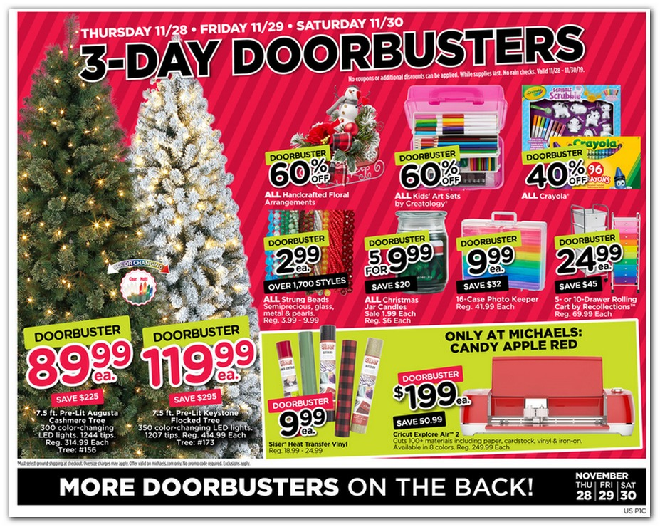Michaels Black Friday page 3